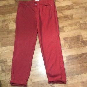 J. Jill Slim Boyfriend Jeans - Size 12